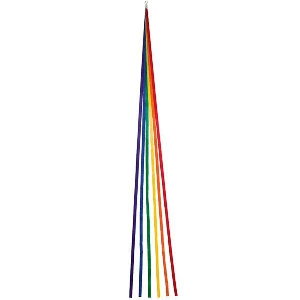 "View (6) 60"" Thin Rainbow Tails - 6 PC Pack"