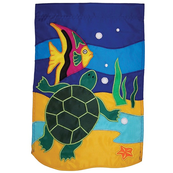 View Sea Life Turtles House Banner