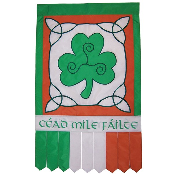 View Irish Welcome House Banner Tails*