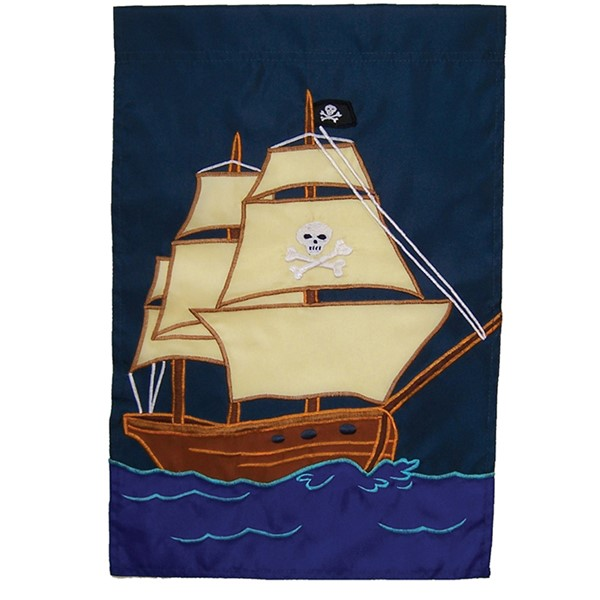 View Pirate Ship House Banner*