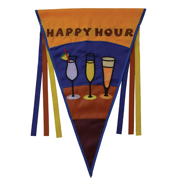 View Happy Hour Pennant House Banner*
