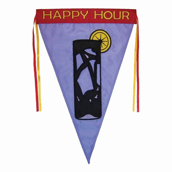 View High Ball Pennant Garden Flag*