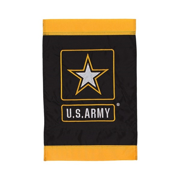 View U.S. Army Logo Garden Flag