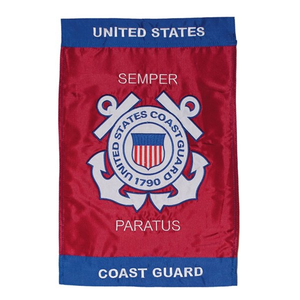 View U.S. Coast Guard Garden Flag