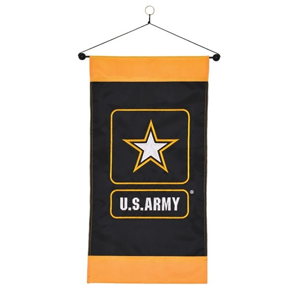 View U.S. Army Logo Hanging Banner