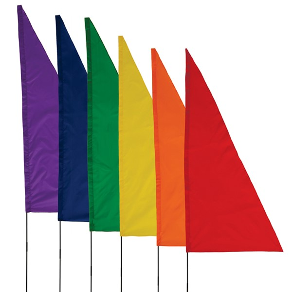 View Rainbow Banner On The Go 6 PC Set