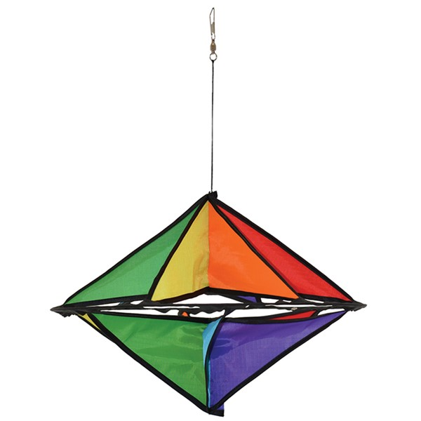 View Rainbow Star Hanging Display