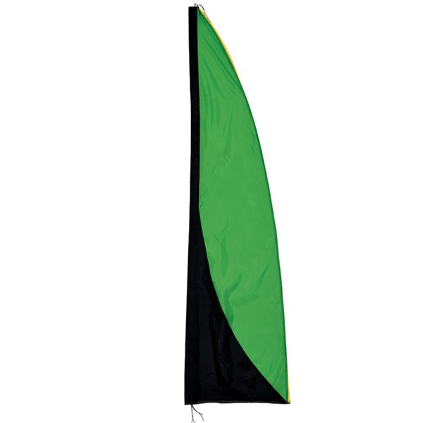 View Green and Black 8.5' Color Banner
