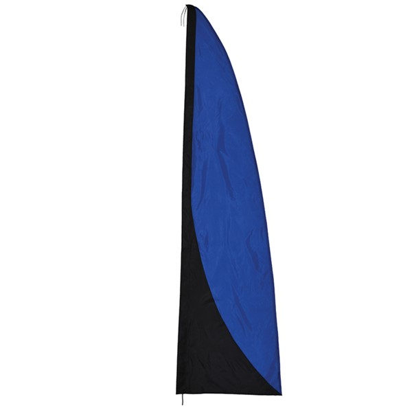 View Blue and Black 8.5' Color Banner