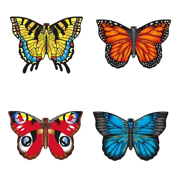 View Realistic Butterflies 12 PC Assortment