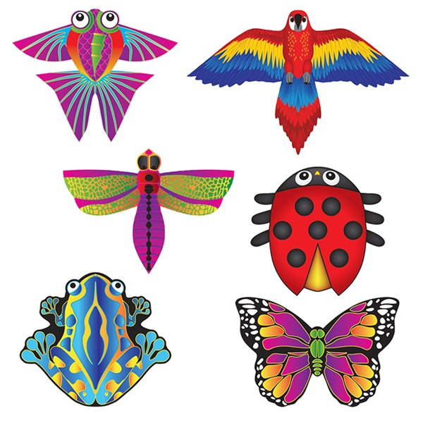 View Nature MicroKite 24 PC Assortment