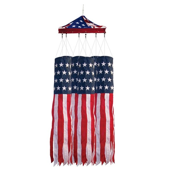 "View 40"" Stars & Stripes Windsock 24 PC Prepack"