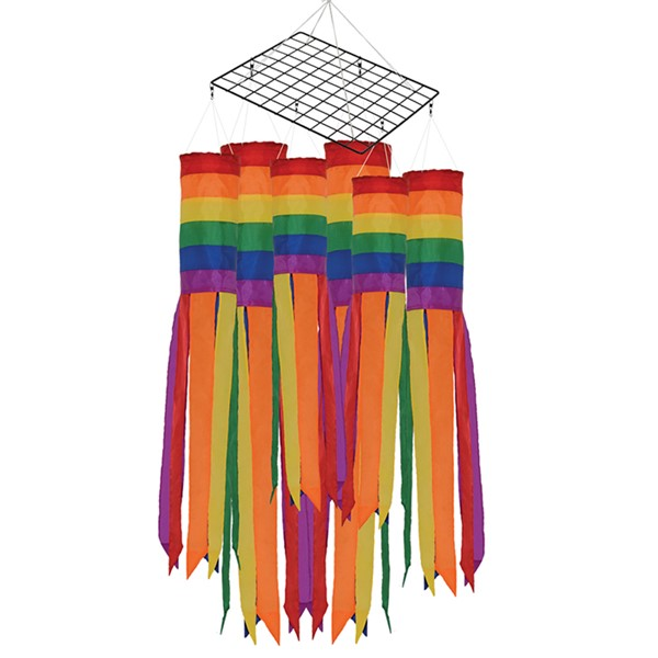 View Value Rainbow Column Windsock 36 PC Prepack