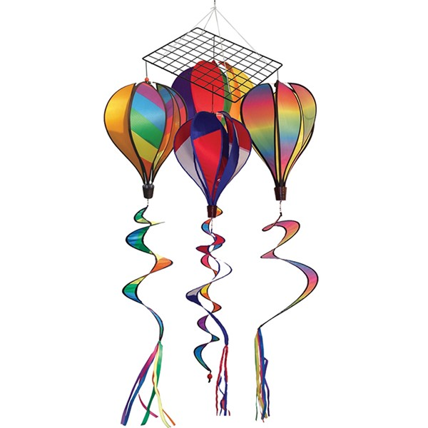 View Bold Colors Hot Air Balloon 16 PC Prepack