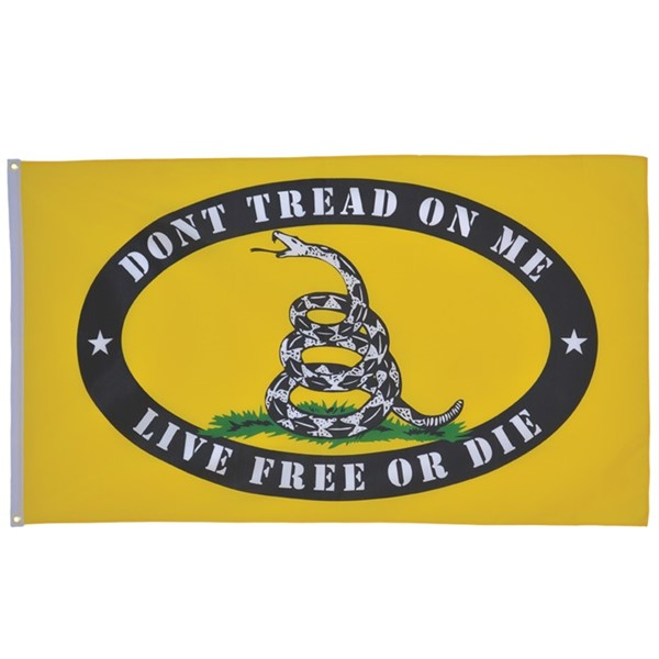 View Live Free or Die 3x5 Grommet Flag