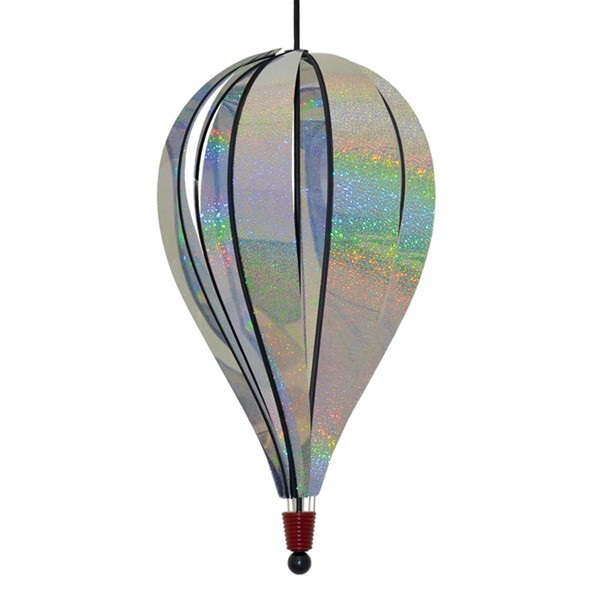 View Silver Sparkle 8 Panel Jumbo Hot Air Balloon