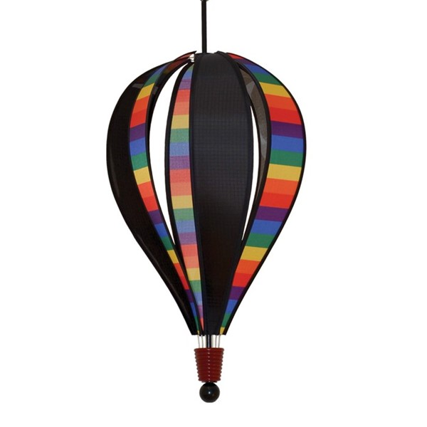 View Rainbow Stripe Next Generation 6 Panel Hot Air Balloon