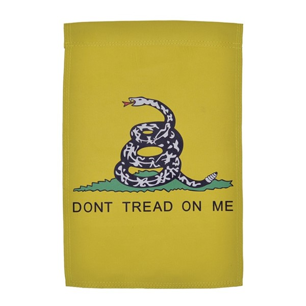 View Dont Tread on Me Lustre Garden Flag