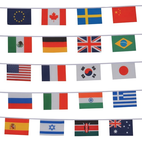 View International String of Flags