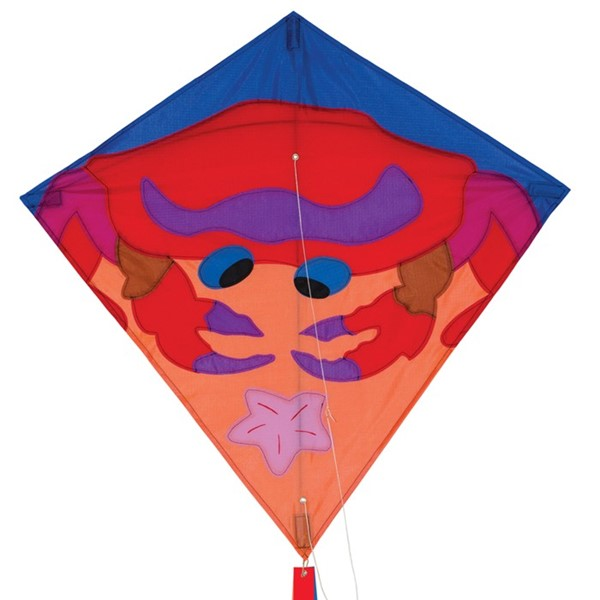 "View Crab 30"" Diamond Kite"