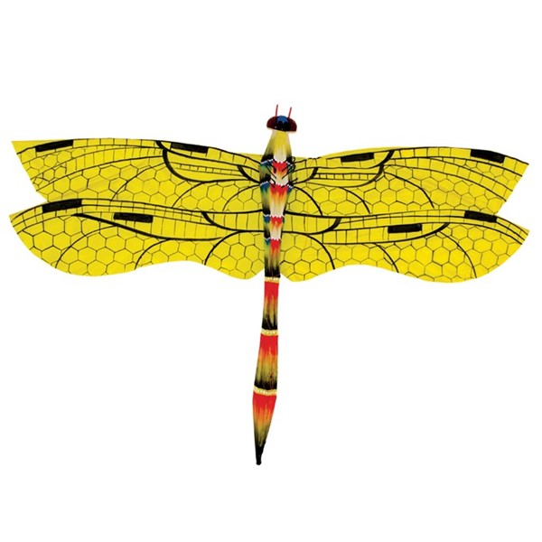 View Yellow Dragonfly Bali Kite
