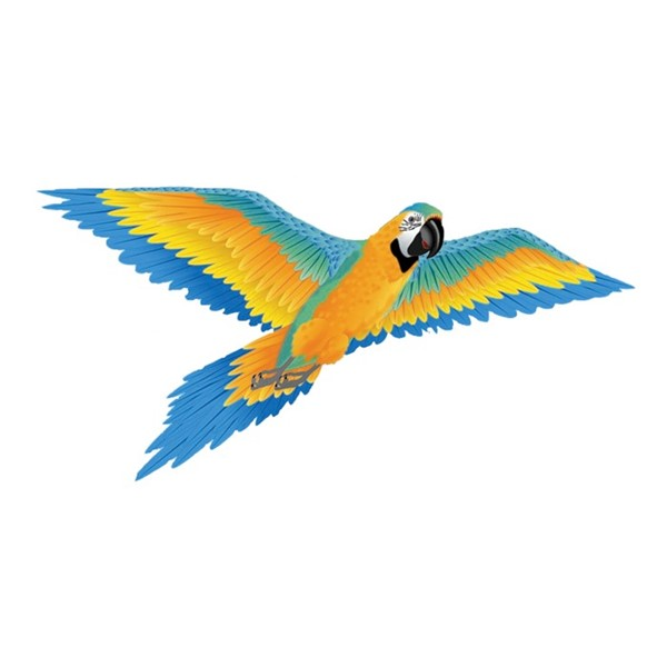 View 3D Supersize Blue Macaw