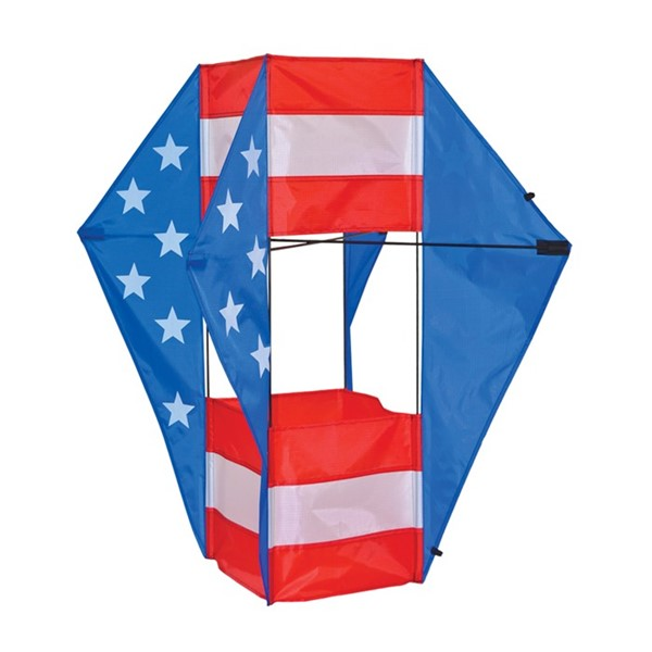 View Stars & Stripes Winged Box Kite