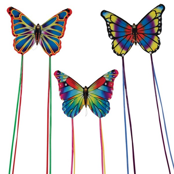 View Butterfly Kites 6 PC Assortment