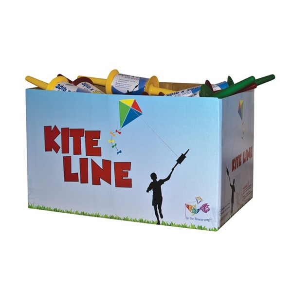 View 30# x 500' Twisted Kite Line on Spool 24 PC Bulk Pack