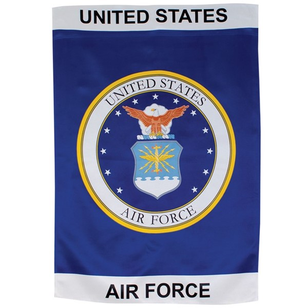 View U.S. Air Force Emblem Lustre House Banner