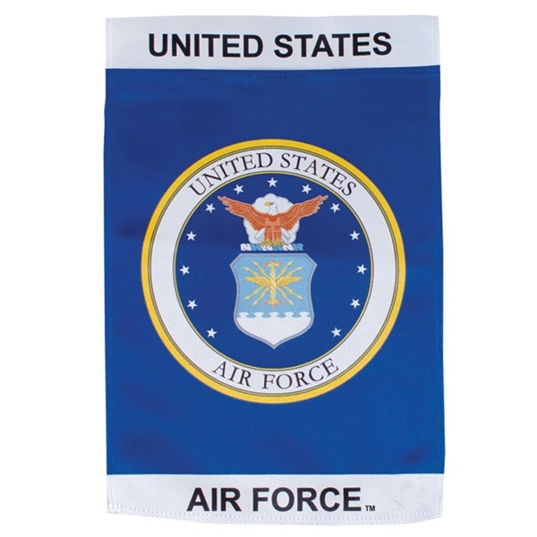 View U.S. Air Force Emblem Lustre Garden Flag