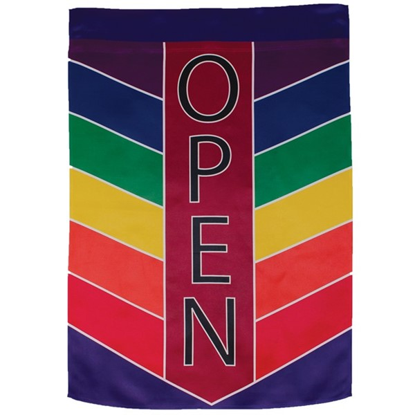 View Open Chevron Lustre House Banner
