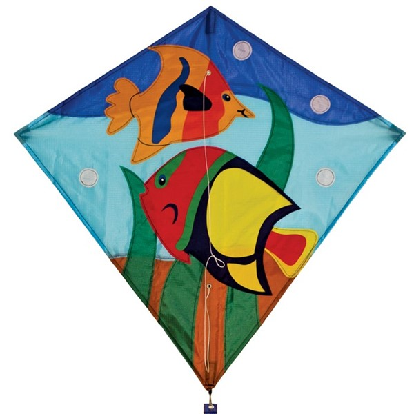 "View Fishes 30"" Diamond Kite"