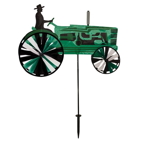 View Green Tractor Spinner