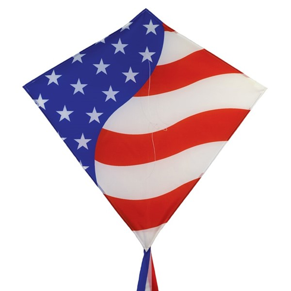 "View Stars & Stripes 30"" Diamond Kite"