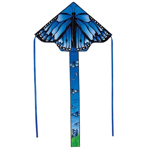 "View Blue Butterfly Swarm 45"" Fly-Hi Kite"