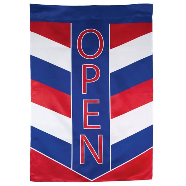 View Open Patriot Lustre House Banner
