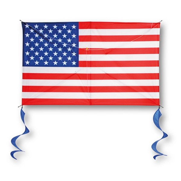 View USA Flag Supersize 2D Kite