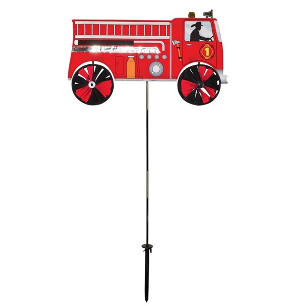"View 24"" Fire Truck Spinner"
