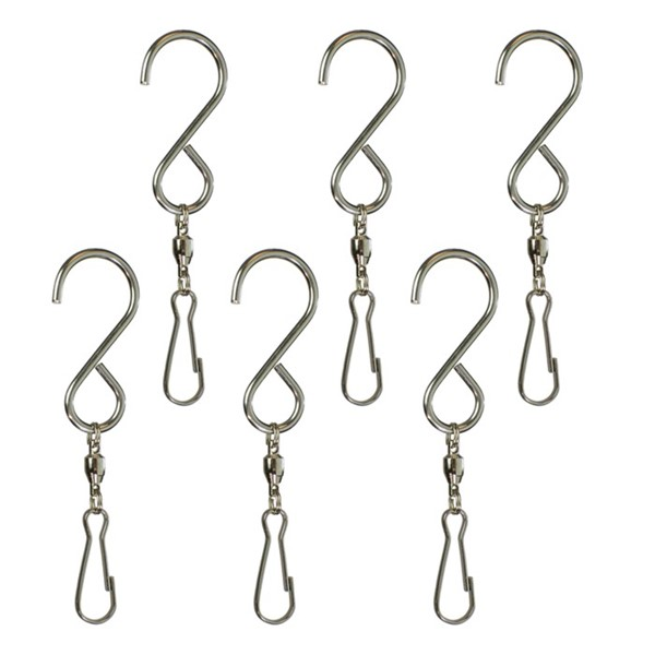 View Hang-It S Hooks with Swivel - 6 PC
