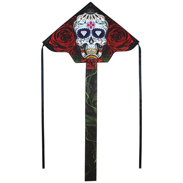 "View Sugar Skull 45"" Fly-Hi Kite"