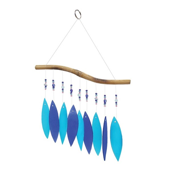 View Cool Glass and Bead Wind Chime