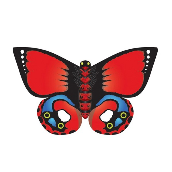 View Indian Red ButterFly DLX
