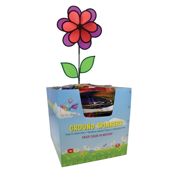 View Neon Colorblock Double Flower (3PK) 20 Piece Display