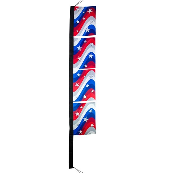 "View Stars & Stripes 17"" x 82"" 4-Section Banner"