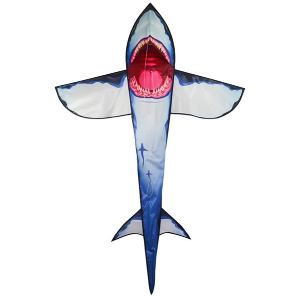 View 7.5' Great White 3D Shark Kite
