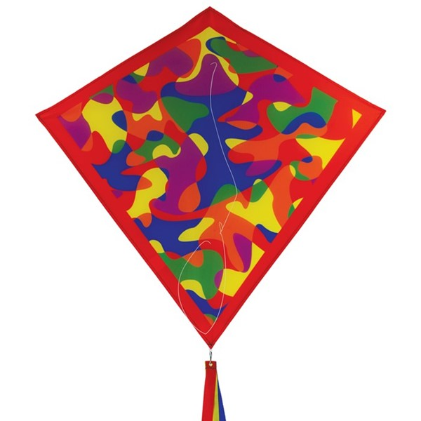 "View Circus Camouflage 30"" Diamond Kite"