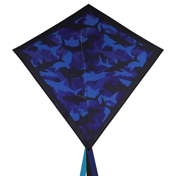 "View Sharks Camouflage 30"" Diamond Kite"
