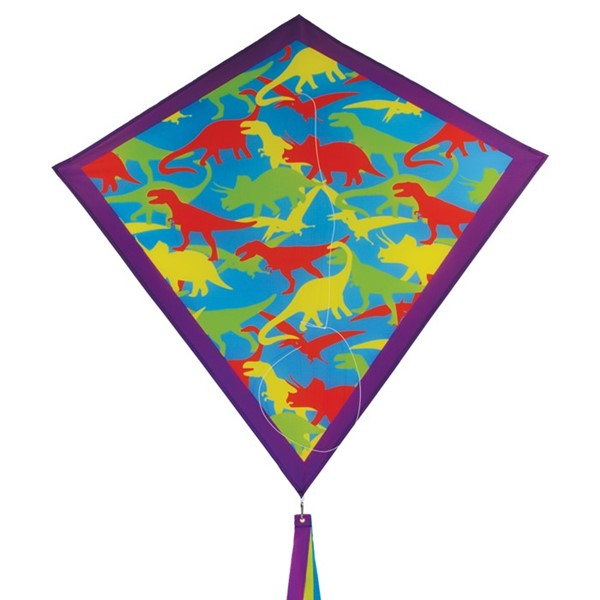 "View Dinosaur Camouflage 30"" Diamond Kite"