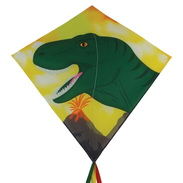 "View Dinosaur 30"" Diamond Kite (Optimized for Shipping)"